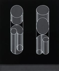 Impossibles by Josef Albers, 1931, Guggenheim Museum Solomon R. Guggenheim Museum, New York Gift, The Josef Albers Foundation, Inc., 1991 © 2016 The Josef and Anni Albers Foundation/Artists Rights Society (ARS), New York Medium: Sand-blasted flashed glass