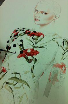 Antonio Soares - Working on Dolce Gabbana SS 2015