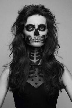Maquillaje Halloween: fotos maquillaje calavera (Foto 5/41)   Ella Hoy
