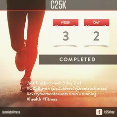 #C25K #fitness #health #running #runner