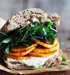 ... Pinterest | Healthy sandwiches, Roasted green beans and Quick sandwich
