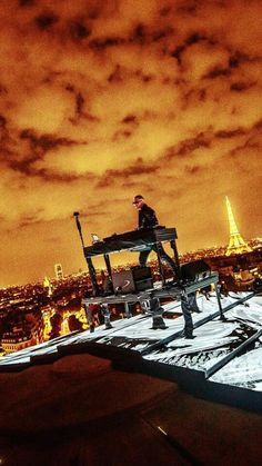 Dj Snake #arcdetriomphe #paris