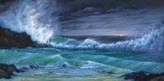 'Ocean Twilight' Karen Malmgren Artist  Oil on canvas