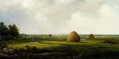Karan and Bob's world. View of Marshfield, Martin Johnson Heade, at the Corcoran Gallery of Art