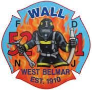 Wall Fire District, 52-1, West Belmar, New Jersey, USA. Patch.