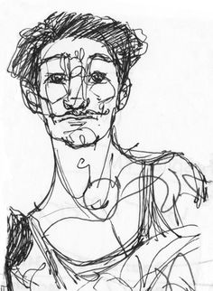 Fredrick. Drawing by Consti