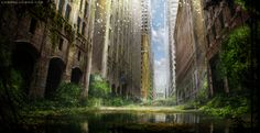 """Overgrown City"" by Cosmetic Lucero (Aeflus) 
