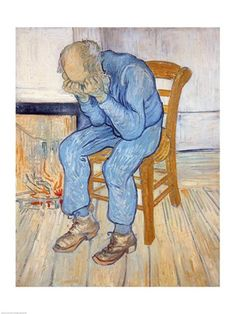 Old Man in Sorrow - Vincent Van Gogh (Hurts just to look at this).