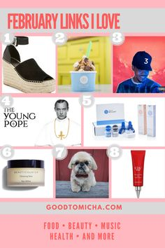The hottest obsessions of February 2017: Links I loveGoodTomiCha
