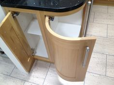 Interesting Curved Kitchen Cabinetry And Drawers. | Home | Pinterest |  Kitchen Cabinetry, Drawers And Kitchens