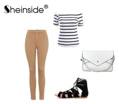 """Sheinside II / 7"" by danijellaa ❤ liked on Polyvore featuring Topshop"