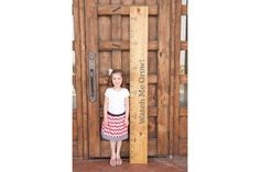 Growth Chart Vinyl Decal Kit - Watch Me Grow!, Ticks, and Numbers - Vinyl Wall Art Decal for Home or Nursery Childs Bedroom