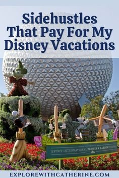 It's no secret that Disney vacations are expensive. That's why I rely on sidehustles to pay for my trips. Sure, they take a little bit of time and effort. But, it also means that I can take my family on vacation without taking money out of our paychecks to do it. #disney #disneyvacation #wdw #travelagent #traveltips #disneybudget #vacationbudget #disneyplanning #disneyland #sidehustles