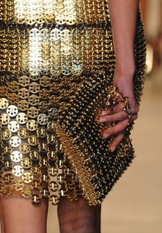 Paco Rabanne, Fall/Winter 2012-2013..details
