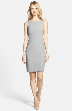Theory 'Betty 2' Stretch Sheath Dress available at #Nordstrom
