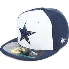5bd9ba9084f0b NEW ERA Dallas Cowboys 59FIFTY baseball cap (White blue Cosas Para Comprar