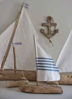 Ingenious Mini Sailing Boat Model Nautical Home Decor Cloth Sailboat Model Flag Table Ornament Wood Crafts Toy Kids Birthday Gift Professional Design Home Decor Home & Garden