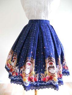 Lolibrary | Indie Brand - Skirt - Haenuli Royal Kitten Skirt /// Size 1, 2 $135 / Size 3 $150 /// Waist:  Size 1 65-73cm / Size 2 71-79cm / Size 3 77-84cm Length:  23.8in