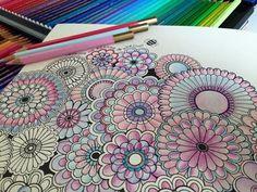 Adult Coloring Pages Books Color Combinations Schemes Secret Gardens Johanna Basford Garden Flower Colour