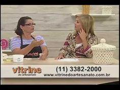 Cesto de crochê endurecido com Carmem Freire - Vitrine do Artesanato na TV - YouTube
