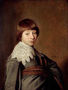 Jan Cornelisz Verspronck - Portret van een jongeman - 1600–50 in Western European fashion - Wikipedia, the free encyclopedia
