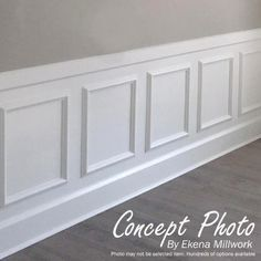 Ekena Millwork 16 in. W x 20 in. H x in. P Ashford Molded Classic Wainscot Wall - The Home Depot Ekena Millwork 16 in. W x 20 in. H x in. P Ashford Molded Classic Wainscot Wall - The Home Depot Wainscoting Wall Paneling, Dining Room Wainscoting, Dining Room Walls, Wainscoting Ideas, Dining Room Paneling, Baseboard Ideas, Installing Wainscoting, Wainscoting Height, Painted Wainscoting