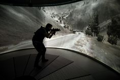 Omnifinity, a start-up based out of Sweden, announced today the release of their Omnideck 6 virtual reality treadmill.