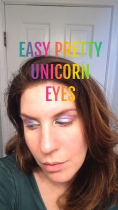 Easy Pretty Unicorn Eyes