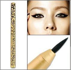 Leopard Design Waterproof Liquid Eyeliner Pencil Eye Liner Eye Liner Pen New #Dazzle black US $3.89