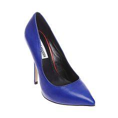 DARRT Blue women's dress high pointy toe - Steve Madden