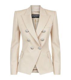Balmain Classic Gold Button Jacket | Harrods.com