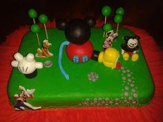 Torta Casa de Mickey
