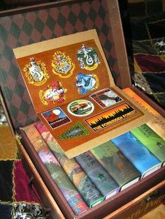 Harry potter hard cover boxed set books 1 7