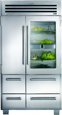 852L Sub-Zero Professional Side By Side Fridge ICB648PROG ~~ Sub-Zero make some of the best refrigerators in the world, produced in the US too.