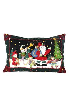 New World Arts Santa Parade Accent Pillow available at #Nordstrom