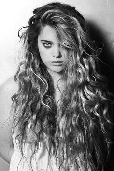 So much hair.