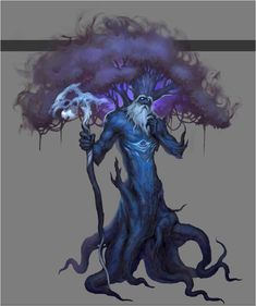 Woad Sphinx - Offspring of the World Tree