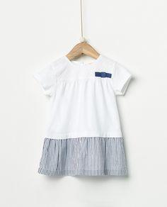 Vestido de bebé niña Sfera con combinado