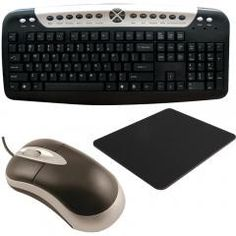 AXIS Mouse, Mouse Pad, Usb Keyboard
