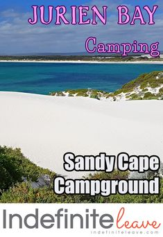 The Sandy Cape Campground is located just from beautiful Jurien Bay. Sandy Cape Campground is awesome overlooking the bay & with access to the beach. Travel Tours, Us Travel, Stuff To Do, Things To Do, The Dunes, Western Australia, Travel Around, Places To See, Cape