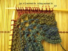 Easy Knitting Tutorial: Feather & Fan Stitch   Creative Knitting Blog