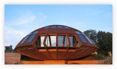 Domespace by Patrick Marsilli for Solaleya  Green eco-friendly custom homes and interiors by Solaleya
