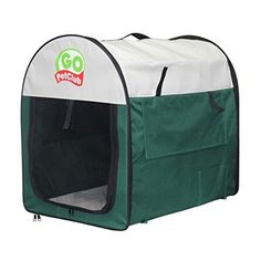 38-inch Pet Folding Crate / Kennel Portable Pet Home Is The Perfect Travel Companion * For more information, visit now : Dog kennels