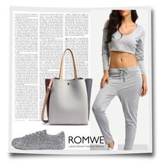 """""""#6/6 Romwe"""" by almira-mustafic ❤ liked on Polyvore"""