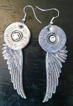 Shotgun shell earrings!!!!!. Email Natalie @ natalw4@aol.com to get yours....