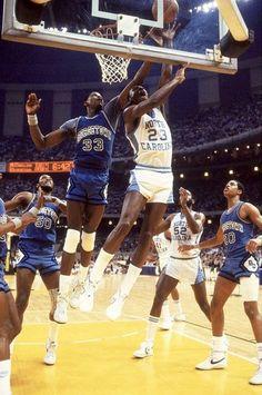 Jordan/Ewing | UNC vs G'Town
