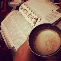 Some hot cocoa w my daily bread before bed! #bible #scriptures #word #latenightstudy #hotcocoa #soulfood #manna #God #Jesus #dailybread / http://www.contactchristians.com/?p=18163