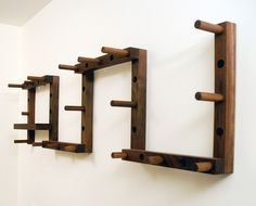 I have always dreamed of owning this coat rack. I love that you can move the pegs around and there's a shelf for keys and phones, etc.