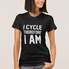 #I Cycle T-Shirt - #cycling #gifts