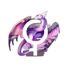 Demigirl Pride Dragon ❤ liked on Polyvore featuring home, home decor, wall art, metal wall art, drawstring pouch, dragon poster, dragon wall art and metal posters